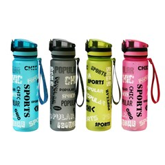 Water Bottle Tritan 500ml 4 colors