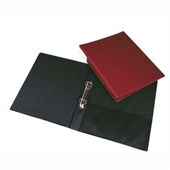 Ring binder PVC 2R 30mm- A4- black