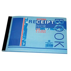 Receipt book NCR- 2 copies of 25sh each- B6