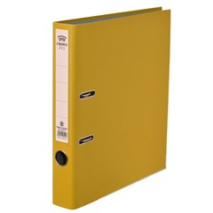 CROWN Letter-file PP 4cm FC Yellow