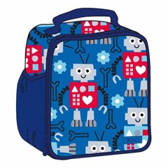 ROCO Lunch Bag Kids Fash. Blue Large