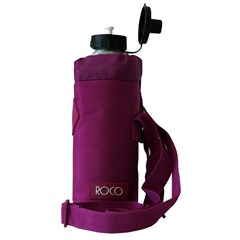 ROCO Water Bottle Fluo 1000ml Violet