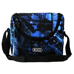 ROCO Lunch Bag Fashion Teen Boys City Blue