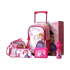 ROCO Trolley BP  5 in 1 Set Unicorn & Princess 16i