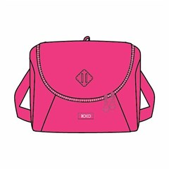 ROCO Lunch Bag Fluo 23(w)x20(h)x14(d) Pink