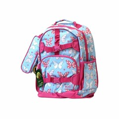 ROCO Backpack Kids Fash. Sky Bl 2 Zip. 17''+P.Case