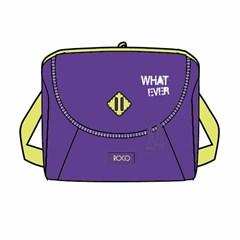 ROCO Lunch Bag Basic 23(w)x20(h)x14(d) Purple/Yell