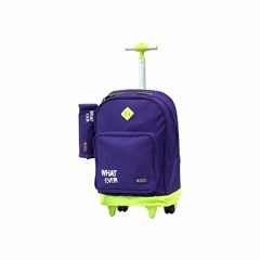 ROCO Trolley1 Basic 2 Zip. 18 Purple/Yell+P.Case