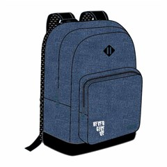 ROCO Backpack Basic 2 Zip. 17Blue Jean/Bk+P.Case