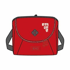 ROCO Lunch Bag  Basic 23(w)x20(h)x14(d)  Red/Grey