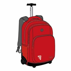 ROCO Trolley2 Basic 3 Zip. 19 Red/Grey+P.Case