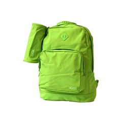 ROCO Backpack Fluo 2 Zip. 17L.Green+P.Case