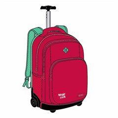 ROCO Trolley2 Basic 3 Zip. 19 Red/Green+P.Case