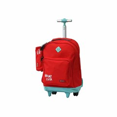 ROCO Trolley1 Basic 2 Zip. 18 Red/Green+P.Case