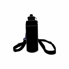 ROCO Water Bottle Fluo 1000ml Black