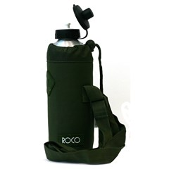 ROCO Water Bottle Fluo 1000ml D.Green