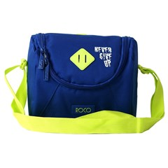 ROCO Lunch Bag Basic 23(w)x20(h)x14(d) Blue/Yellow