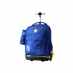 ROCO Trolley2 Basic 3 Zip. 19 Blue/Yellow+P.Case