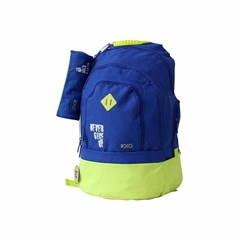 ROCO Backpack Basic 3Zip. 20 Blue/Yellow+P.Case