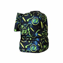 ROCO Backpack 18 3Zip FASTEST Black/Green +P.Case