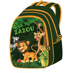 ROCO Backpack Zazou 5in1 school Set 2 Zip. 16