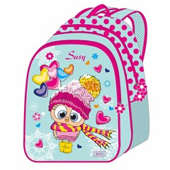 ROCO Backpack Susy 5in1 school Set 2 Zip. 16''