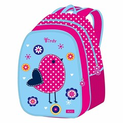 ROCO Backpack Birdy 5in1 school Set 2 Zip. 16''
