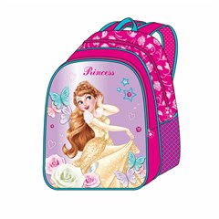 ROCO Backpack Princess 5in1 school Set 2 Zip. 16''