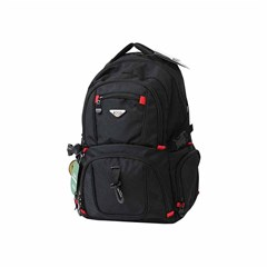 ROCO Backpack Technical Classic Black 2 Zip. 19''