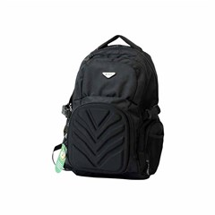 ROCO Backpack Technical Classic Black 3 Zip. 19''