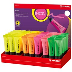72/45-1 NEON highlighter 45Pcs in Display L
