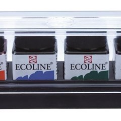 ECOLINE SET PLASTIC 6X30ML