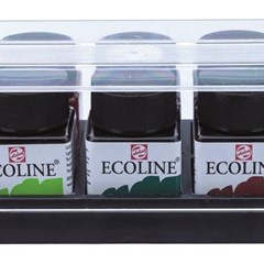 ECOLINE SET PLASTIC 10X30ML