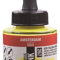 AAC INK 30ML AZO YLW LEMON